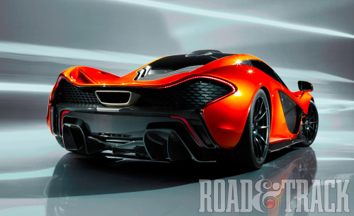 The McLaren P1, to be unveiled at the 2012 Paris Auto Show, aims to be the quickest and most rewarding series production road car on a circuit. (Source: Road & Track)