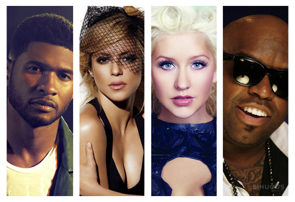 The Voice: Christina Aguilera & Cee Lo Out, Usher & Shakira In
