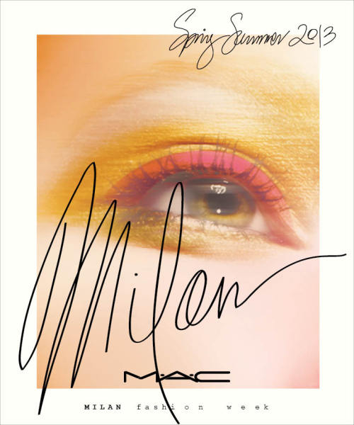 maccosmetics:  M∙A∙C SS13 Paris Fashion Week