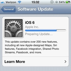 #apple #ios #ios6 #iphone #update  (Taken with Instagram)