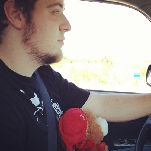 He's adorable. #love #teddybear (Taken with Instagram)