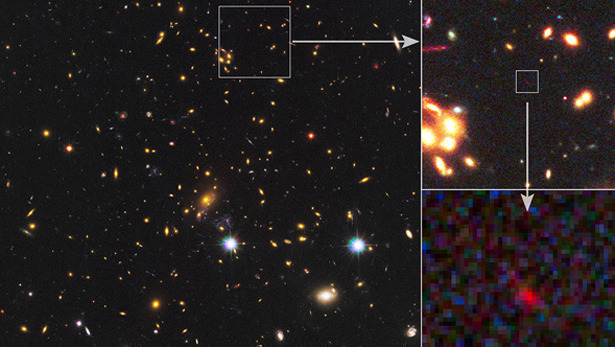 (via Is This the Most Distant Galaxy Ever Seen (by Humans)? - Rebecca J. Rosen - The Atlantic) This just keeps everything in perspective.