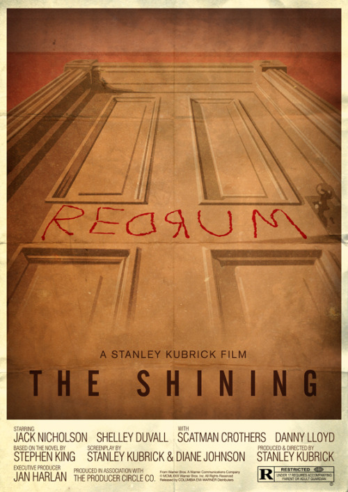 The Shining poster by ORJ.