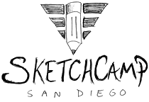 I've signed on to give a talk next month at SketchCamp San Diego. I think it'll be a lot of fun. Unfortunately seats have already sold out for the conference, but if you're already registered to attend: I'll see you on October 6th!