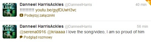 bestcouples:  natty01:  Danneel is Jensen's biggest fan! She's so cute :)   yeah totally btw it's me @Kriaaaa