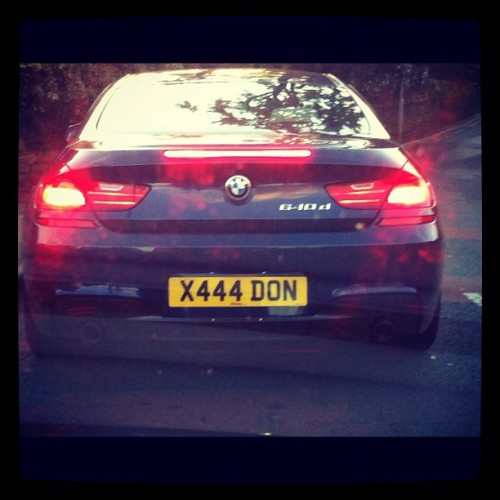 Who has this number plate?! I NEED IT! #bmw (Taken with Instagram)