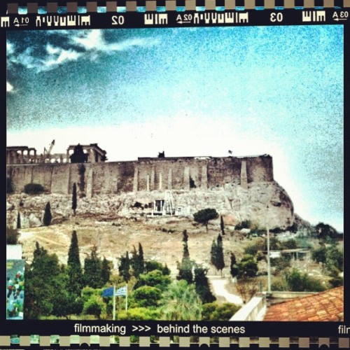 The Acropolis - #snapseed #instacollage #instacanvas #instaframe #ig #instatags #instagram #instacam #iphone #icam #iphoto #statigram #webstagram #webstatags #statitags #instatake #instalovers #dailyphoto #acropolis #athens #greece #parthenon #sky #blue #ruins #ancient (Taken with Instagram)