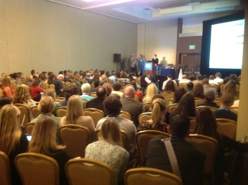 A packed house - at least 200 people - at a #DF12 session on sales-marketing alignment. Clearly, this isnt't just an issue that resonates with analysts and vendors - it's in the business mainstream, and it's a big deal.