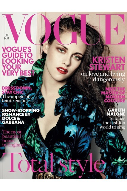 Kristen Stewart's looking smoking hot on the cover of Vogue UK October 2012. What do you think? Take the rest of our poll here!
