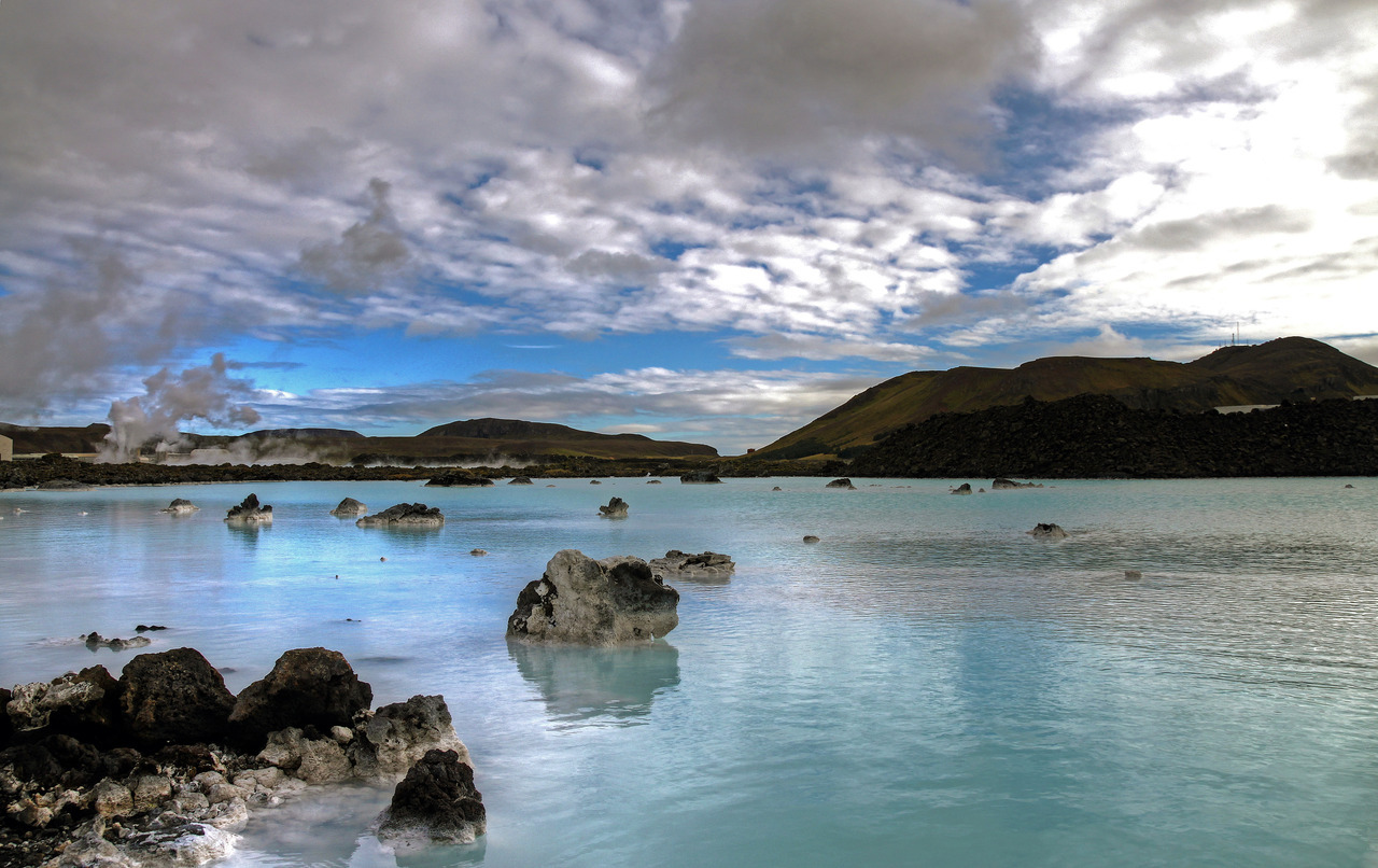 bathing in the waters of the blue lagoon was an amazing start to a breathtaking trip to iceland - more photos to follow