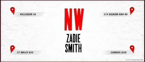 thepenguinpress:  Let Zadie Smith guide you on a tour of the real-life locations in NW. We've been working on this for a while, and we're very excited to share it with you.  This is really cool.