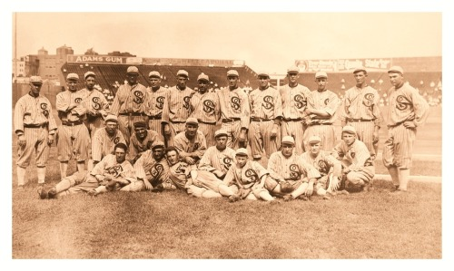 "1917 Chicago White Sox Team World Series Champions of 1917Here they are in all their glory…before the ""Black Sox"" scandal of 1919. In this rare photo, Shoeless Joe Jackson is laying down in the front row, 2nd from left."