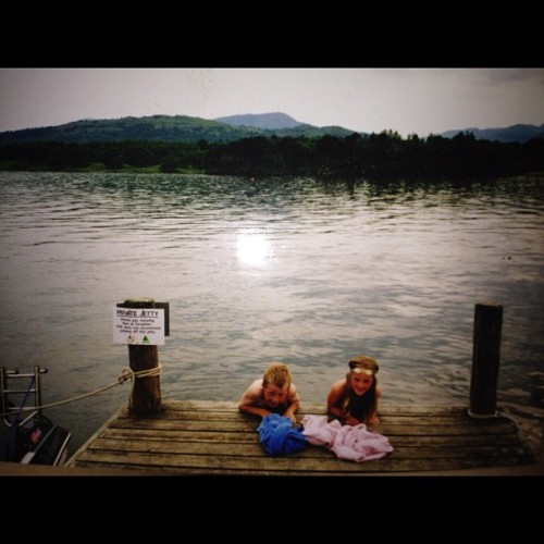 best time of my life going to the lake district when I was younger 😊#lakedistrict #old #brother #memories  (Taken with Instagram)