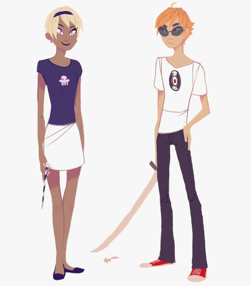 neophytecherryglare:  a rose and dave because im in a drawing mood today ᵔᴥᵔ  Oh nooooo I can feel my brain realigning to make this permanent headcanon.