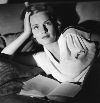 Actress Frances Farmer, born September 19, 1913.