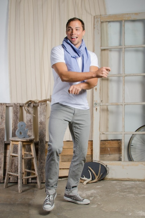 For guys and gals! Classic, classic, classic! The Blue & White Scarf is simply awesome and will quickly become a mainstay in your Fall wardrobe. Made with 100% organic cotton and by our fair trade certified factory partner, you will look good while doing good.