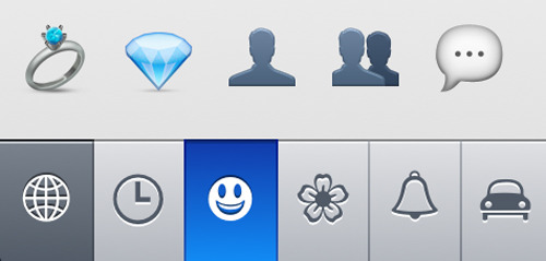 glad to see anonymous and his friend made it into the iOS6 emoji update.  right next to the diamonds too.  movin' on up!