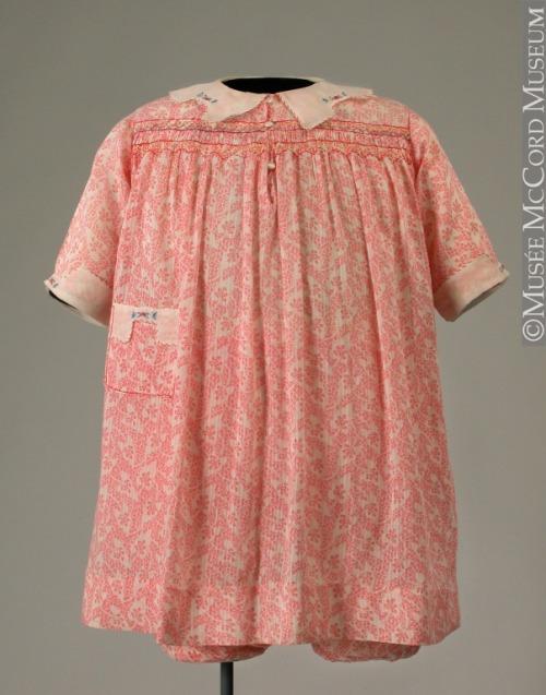 Блумер платья 1920-1940 Музей истории МакКорд