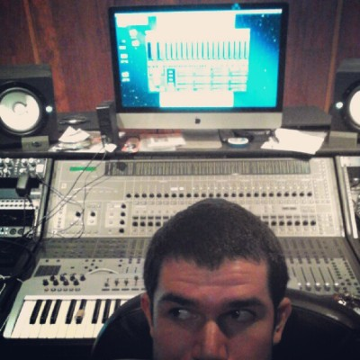 At Defient studio  (Taken with Instagram)