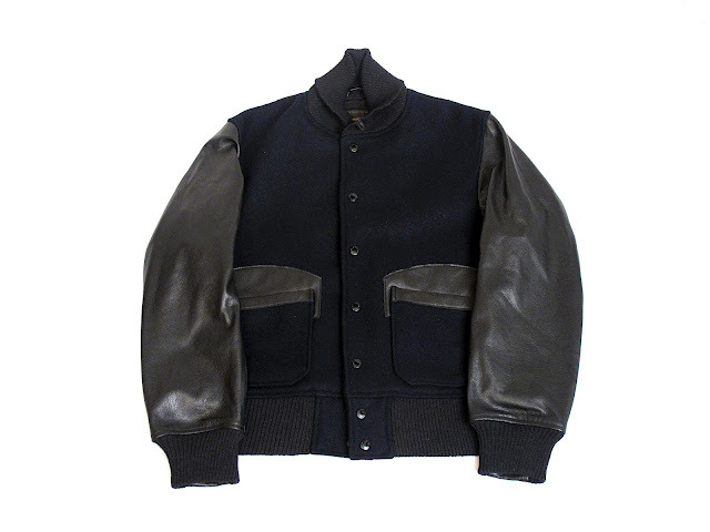 Engineered Garments x Golden Bear Hunter Varsity Jacket. EG is killing me at the moment.