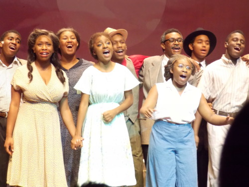 raedellementary:  The Color Purple at Northwest School of the Arts
