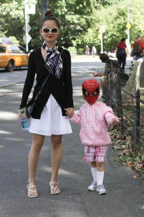 humansofnewyork:  Because she doesn't like princesses.
