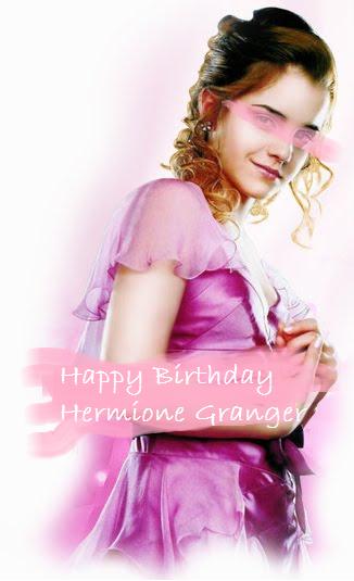 happy birthday hermione by - photo #19