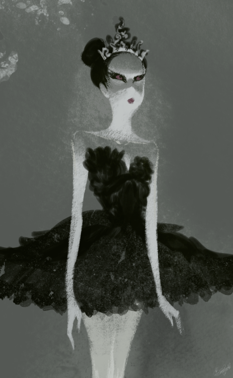 Black Swan, an old piece that I still like.
