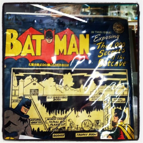 #batman #1948 #antiquing  (Taken with Instagram)