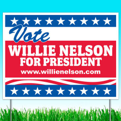robotcosmonaut:  Vote Willie