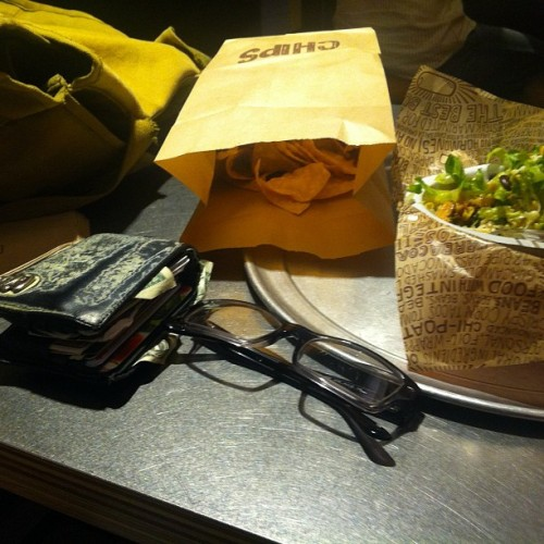 #chipotle #dinner  #burrito  #bowl #food  (Taken with Instagram)