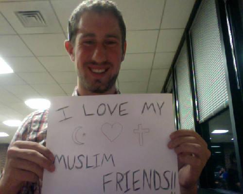 I am American and I do not hate. My Muslim friends are some of the coolest people I know! :)
