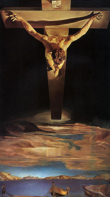 Christ of Saint John of the Cross (1951) by Salvador Dalí