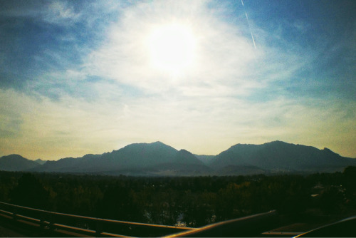 Pacific Northwest fire haze over Boulder #vscocam