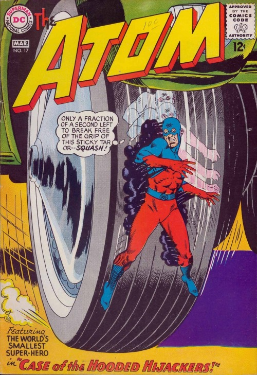 comicbookcovers:  The Atom #17, March 1965, cover by Gil Kane and Murphy Anderson