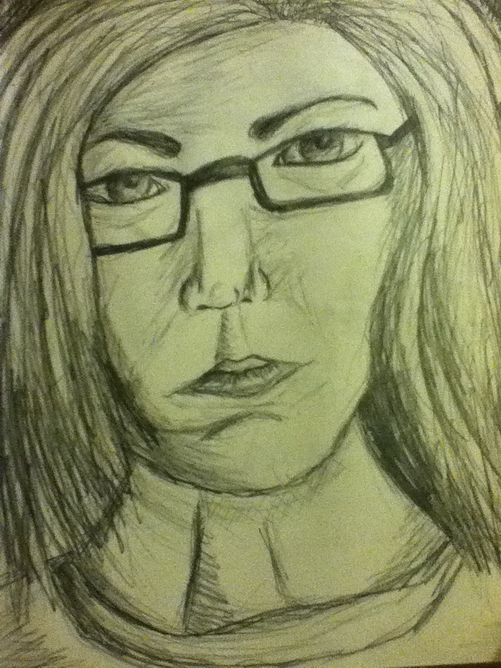 Self portrait of older me :)