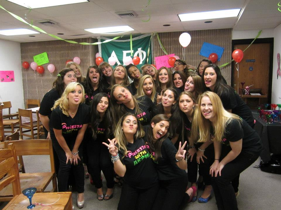 "Fall Recruitment 2012- ""PHIESTA"" love my sisters <3"