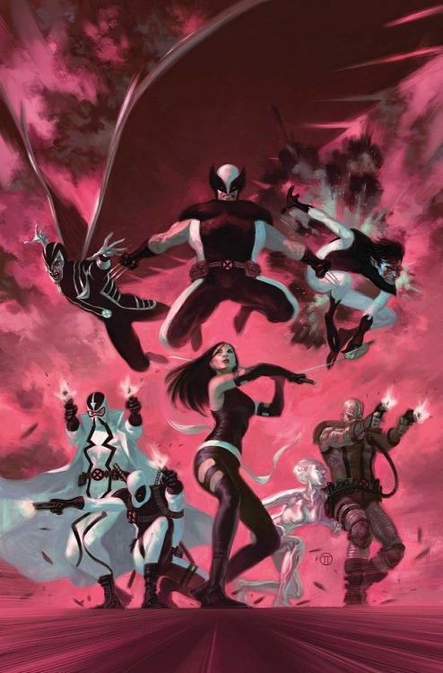 UNCANNY X-FORCE #35Artist: PHIL NOTOCover: JULIAN TOTINO TODESCO