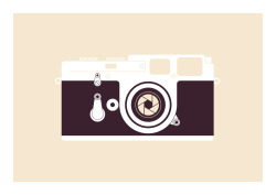 designersof:  One of my cameras from my latest wee screen printed illustration series. More to be posted very soon on my tumblrMore here: http://blog.thisisaekido.co.uk/