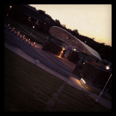 Magic Happens Here - Bill Baker Amphitheater (Taken with Instagram at North Arkansas College (South Campus))
