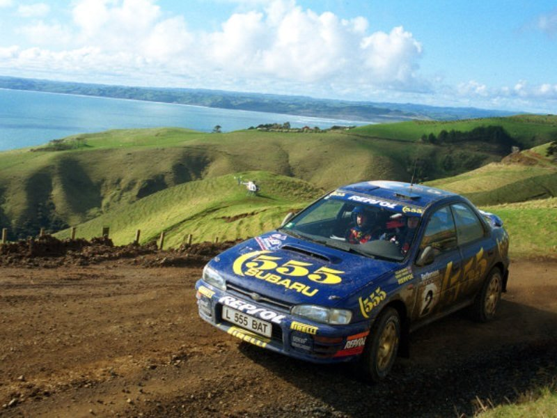 Somewhere, possibly in another world, Colin McRae is ripping through the clouds.