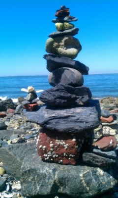 My rock stacking skills