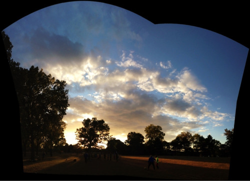 Soccer practice. South Minneapolis. Taken with Photosynth.