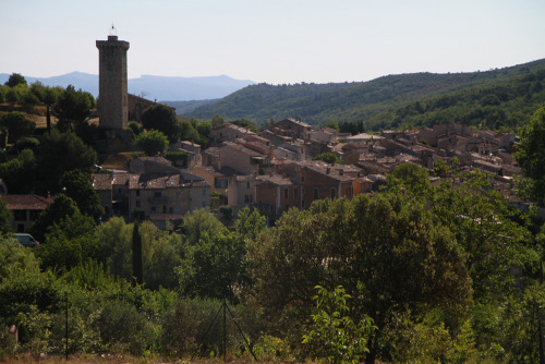 our little village, Saint-Martin-de-Brômes