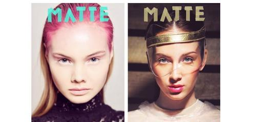 Matte Magazine. Great Online/Print Magazine. Check Issues No. 3 & 4 http://home.mattemagazine.com/p/mag.html My work in Issue No. 4. Pages 50-59