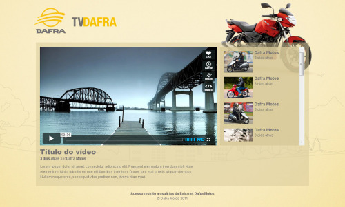 TV Dafra A2C | intranet