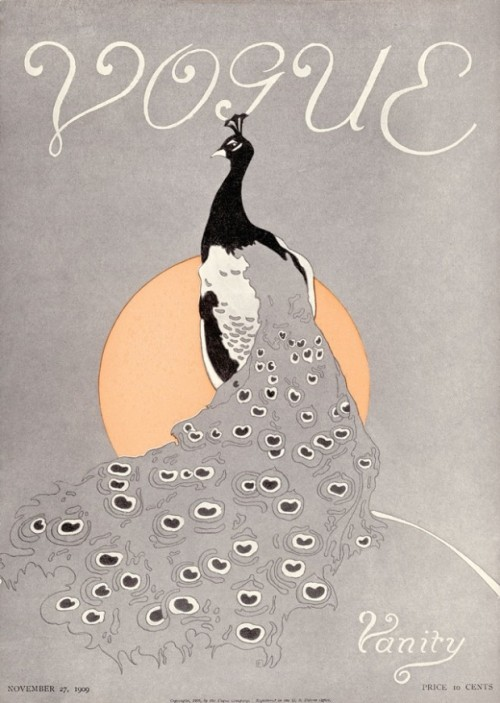 Vogue Cover of the Week: November 27, 1909 uncredited