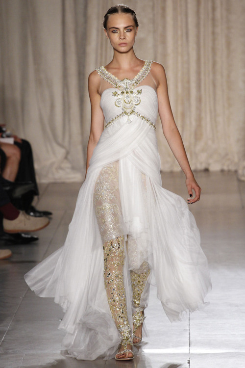 fasshin:  Marchesa Spring 2013 Ready to Wear