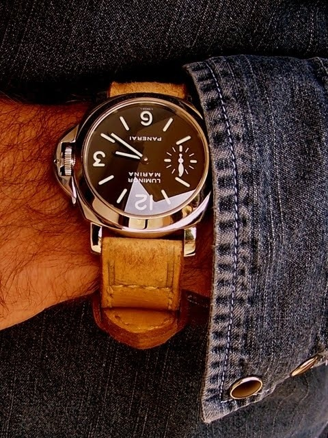 I have always loved the way the Panerai Luminor Marina looks on your wrist - stylishly tough