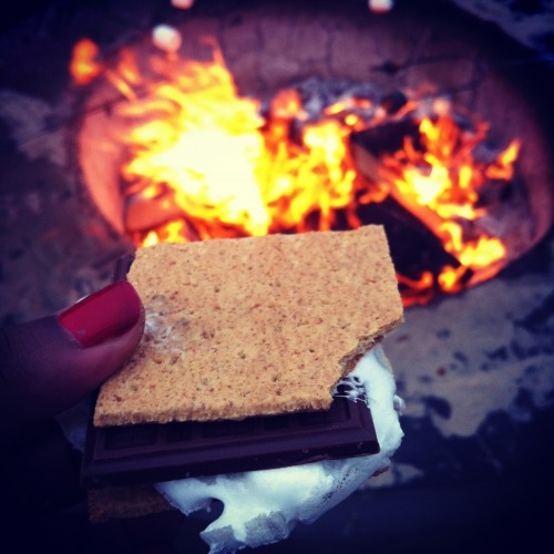 Smores. Camp Fire. Beach. How I miss LA.
